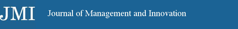 JMI Journal of Management and Innovation